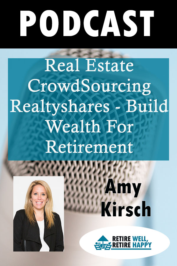 Real Estate CrodwSourcing Realtyshares - build wealth for Retirement