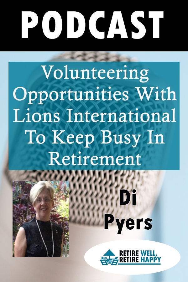 Volunteering Opportunities have many benefits both Personally and for your Community, that's the subject of this interview.