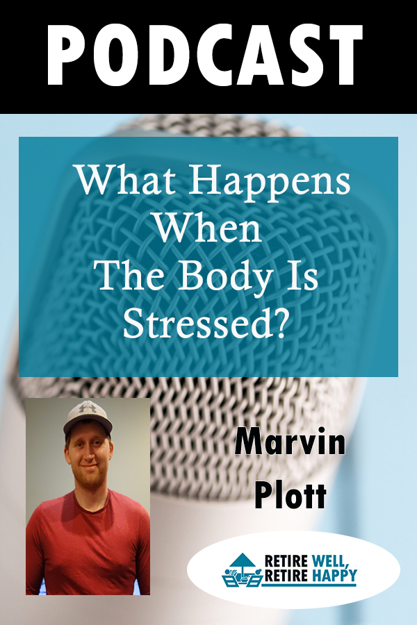 What happens when the body is stressed?