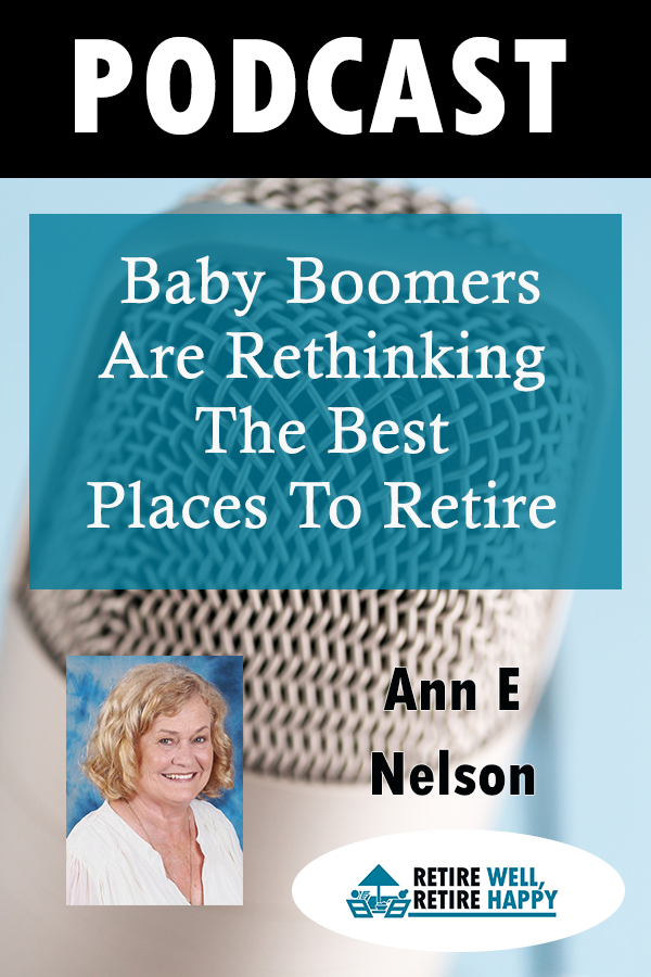 Baby Boomers are rethinging the Best Places To Retire