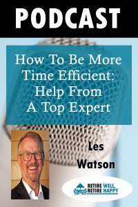 How to be more time efficient: Help from a top expert.